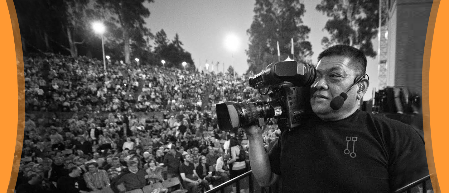 Camera Operator for the Tom Petty 2017 Wears CM-i3 Headset