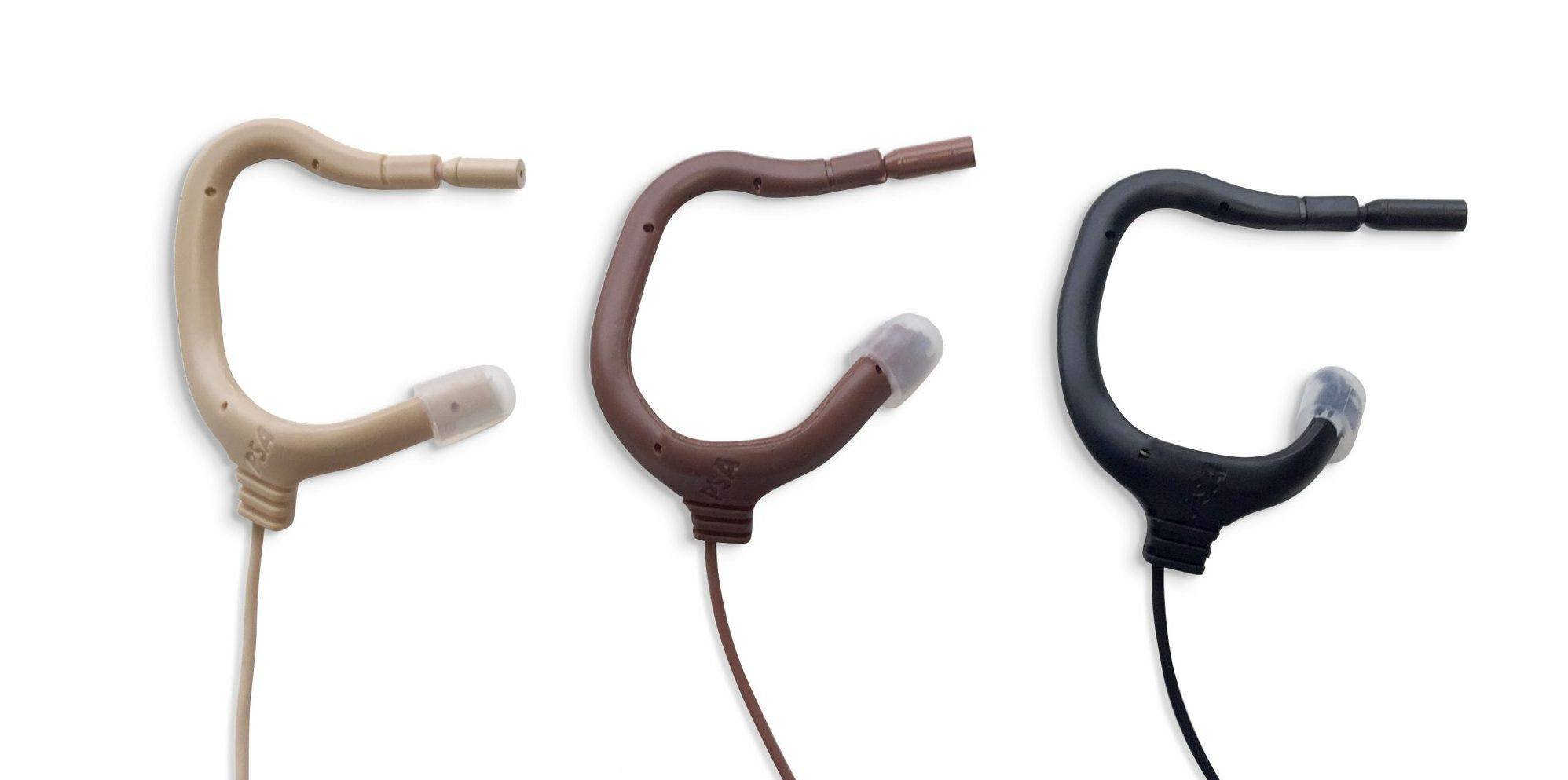 EMBRACE Microphones in 3 Colors