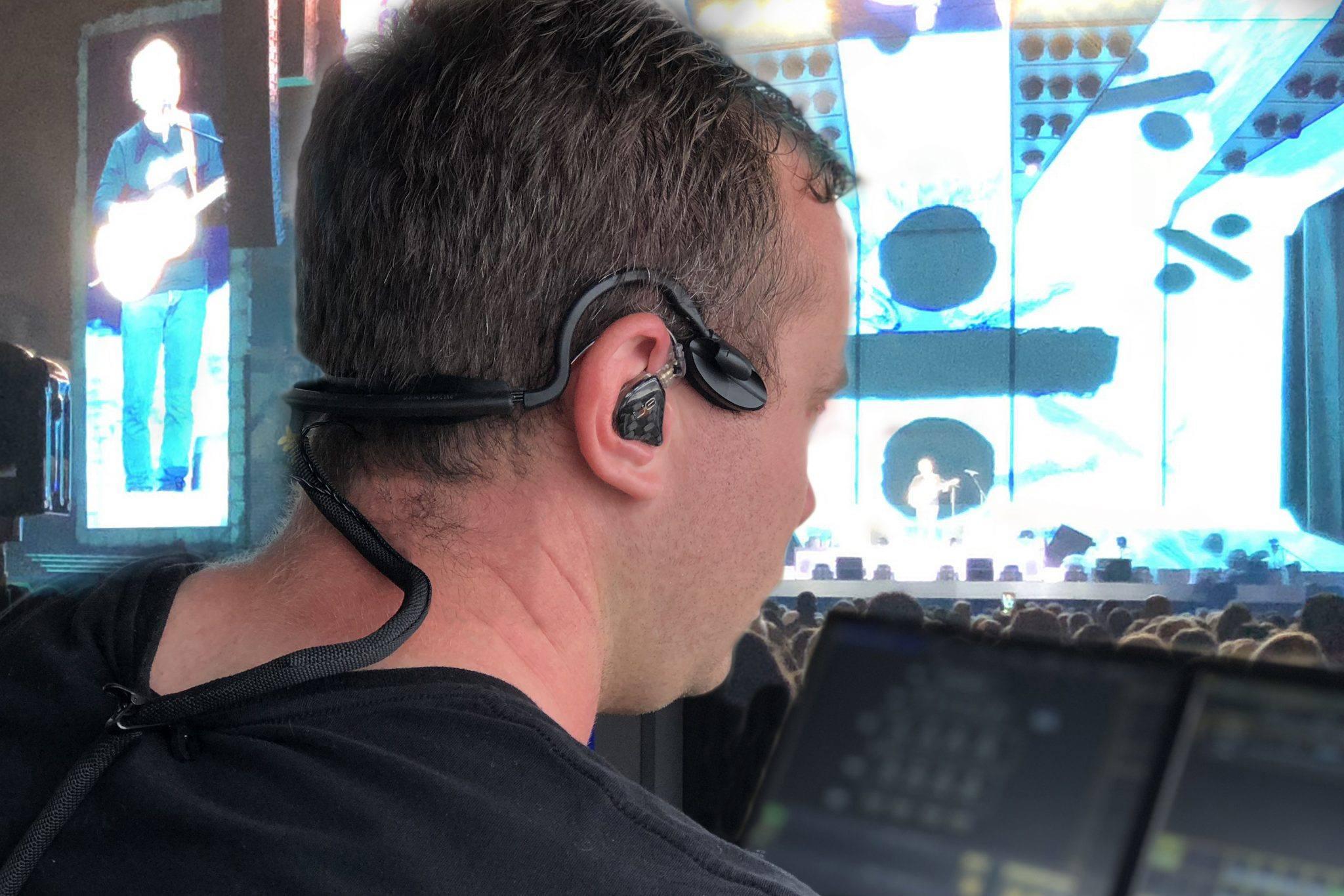CM-i3 in ear headset with ultimate in-ears