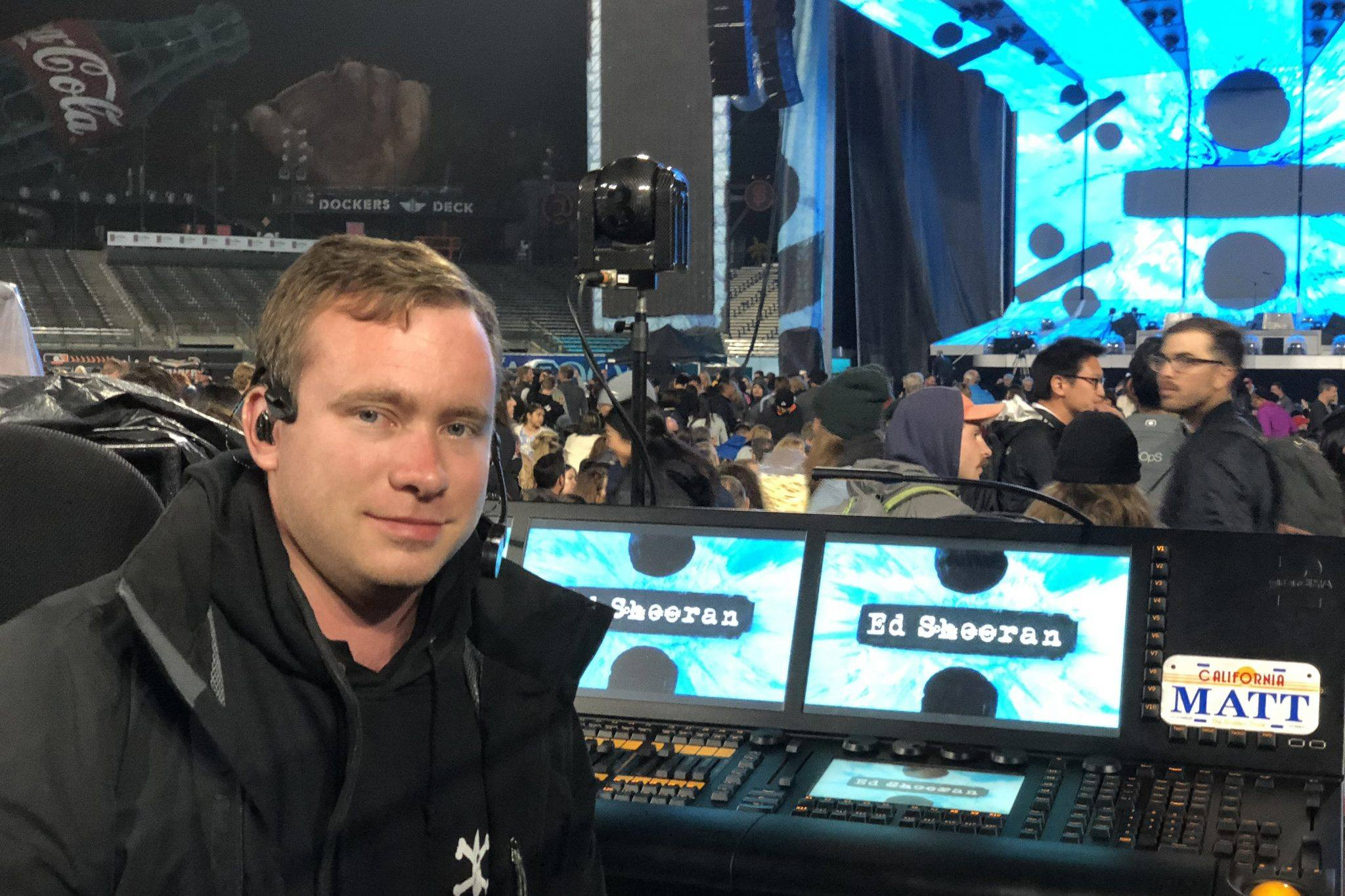 Sheeran Tour Adds Cm I3 Headset Point Source Audio