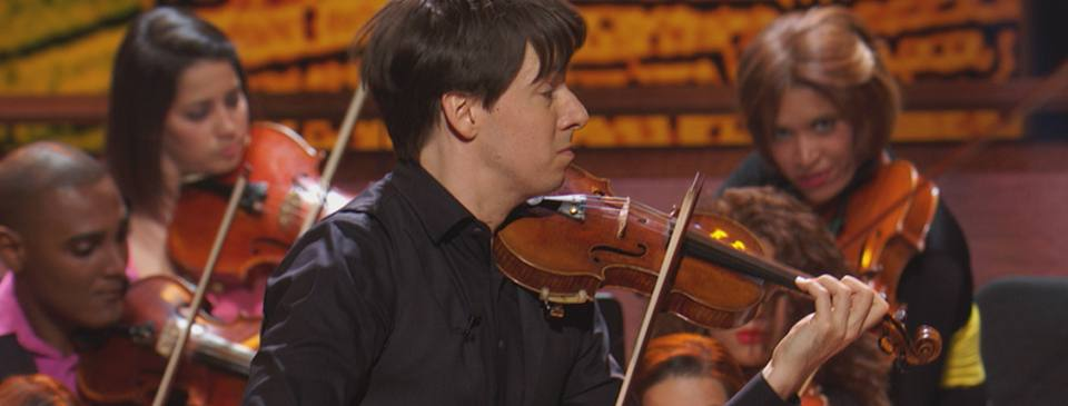 Joshua Bell, EMBRACE mic
