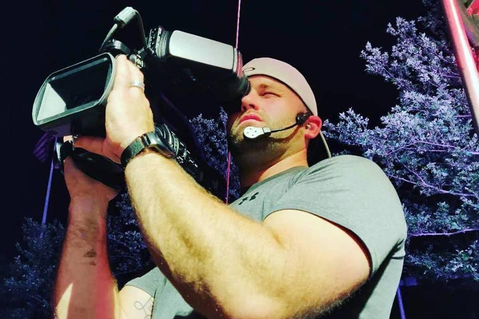 Camera Operator Braden Hasselbeck rocks his new CM-i3 at Bunbury Festival