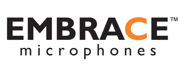 Embrace logo, Embrace microophones