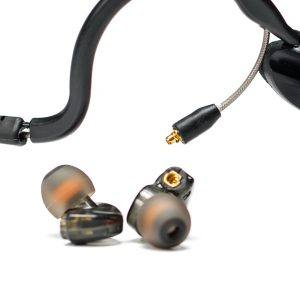 CM-i3 Intercom Headset, Earbuds detached