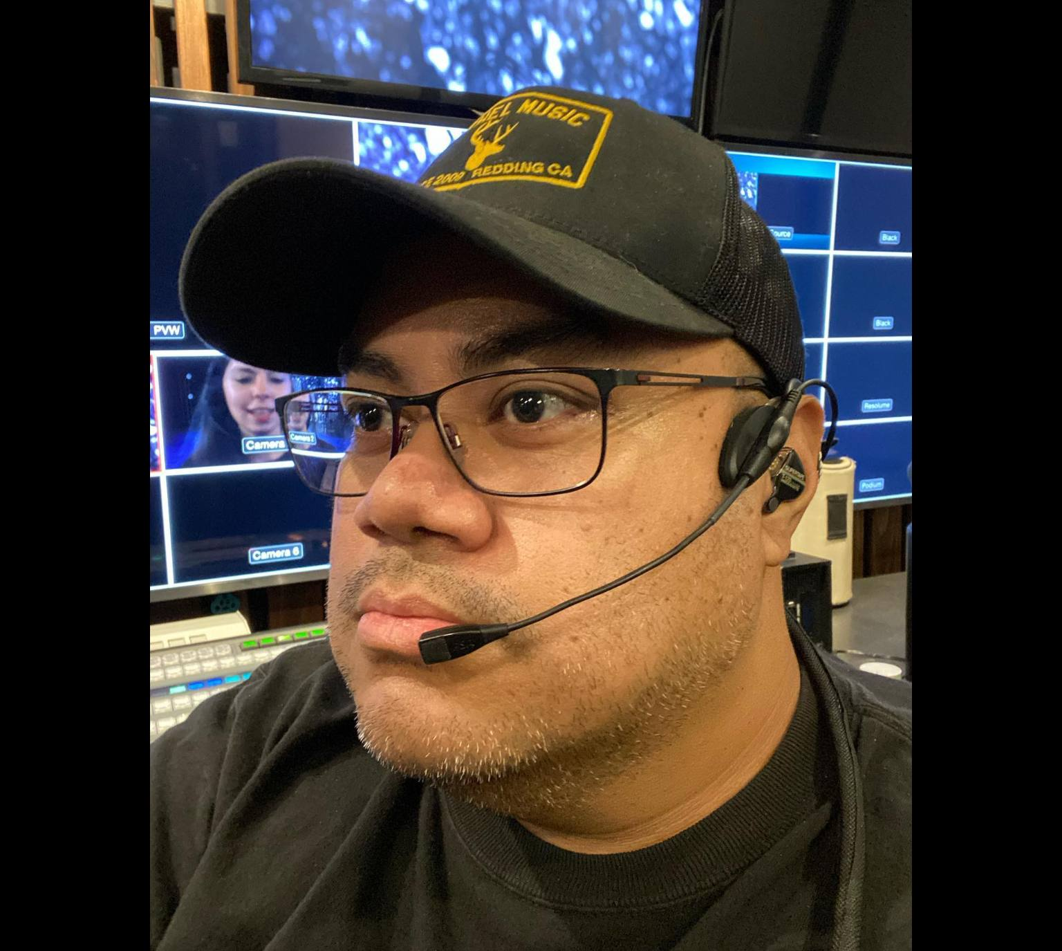Video Director Headset - Chad Vegas Bethel Church
