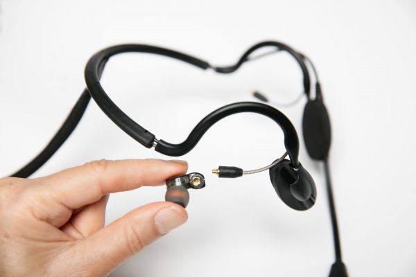 CM-i3 Intercom Headset detached earphone