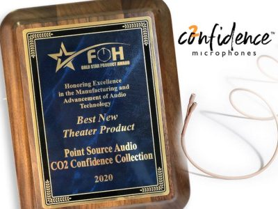 Point Source wins Best New Theater Product Award for CO2 Confidence Collection