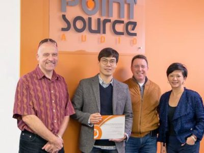 South Korea's Capstone at Point Source Audio Office