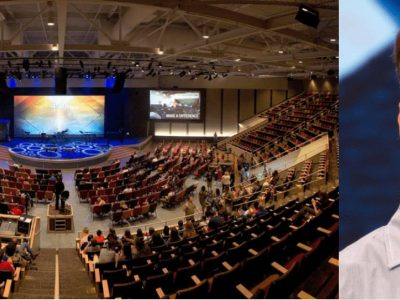 Chase Oaks Pastor uses Point Source Audio Microphone