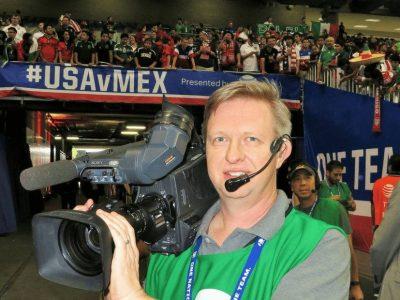 NBA camera operator wears CM-i3 intercom headset