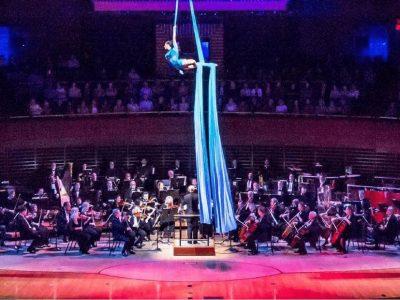Cirque du Soliel and Philadelphia POPS Orchestra